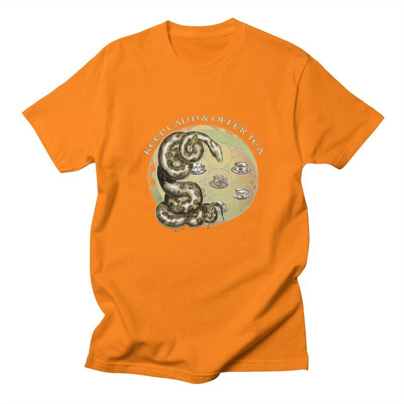 Tea Tee - Keep Calm & Offer Tea Women's Regular Unisex T-Shirt by theatticshoppe's Artist Shop