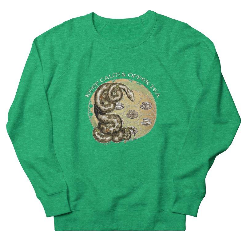 Tea Tee - Keep Calm & Offer Tea Women's Sweatshirt by theatticshoppe's Artist Shop