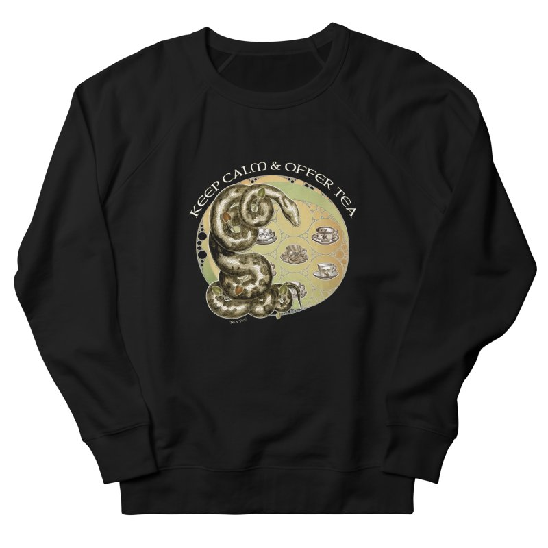 Tea Tee - Keep Calm & Offer Tea Men's Sweatshirt by theatticshoppe's Artist Shop