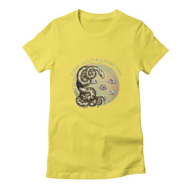 Tea Tee - Keep Calm & Offer Tea Women's T-Shirt by theatticshoppe's Artist Shop