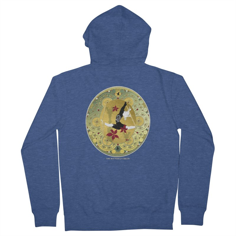 The Butterfly Circus Lenormand Flowers Women's French Terry Zip-Up Hoody by theatticshoppe's Artist Shop