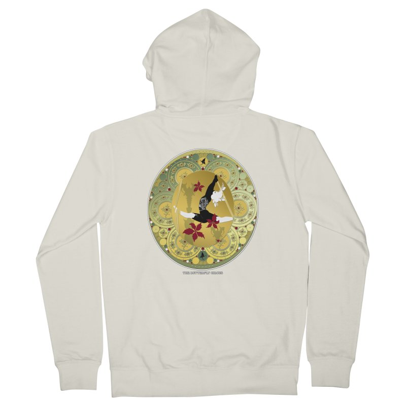 The Butterfly Circus Lenormand Flowers Women's Zip-Up Hoody by theatticshoppe's Artist Shop