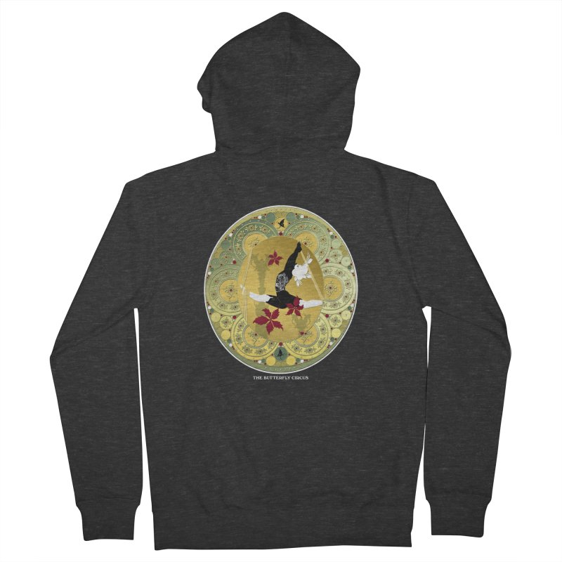 The Butterfly Circus Lenormand Flowers Men's French Terry Zip-Up Hoody by theatticshoppe's Artist Shop
