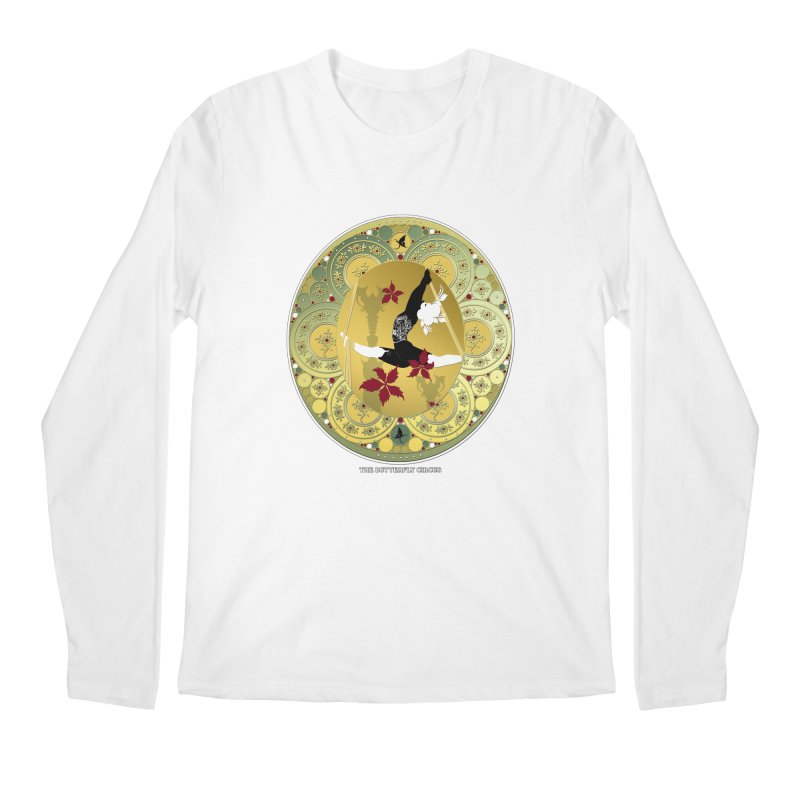The Butterfly Circus Lenormand Flowers Landscape Men's Longsleeve T-Shirt by theatticshoppe's Artist Shop