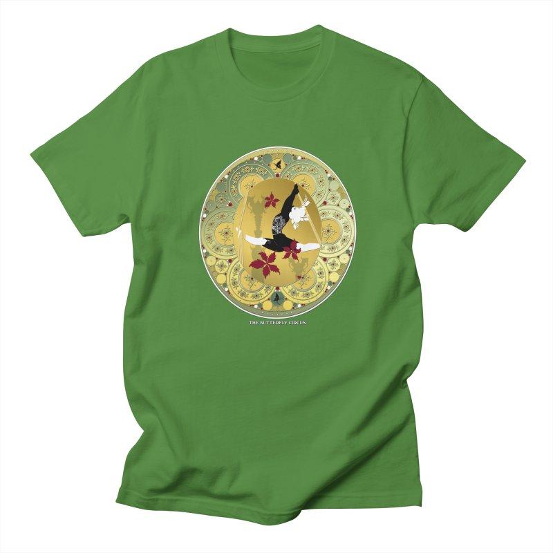 The Butterfly Circus Lenormand Flowers Landscape Men's T-shirt by theatticshoppe's Artist Shop