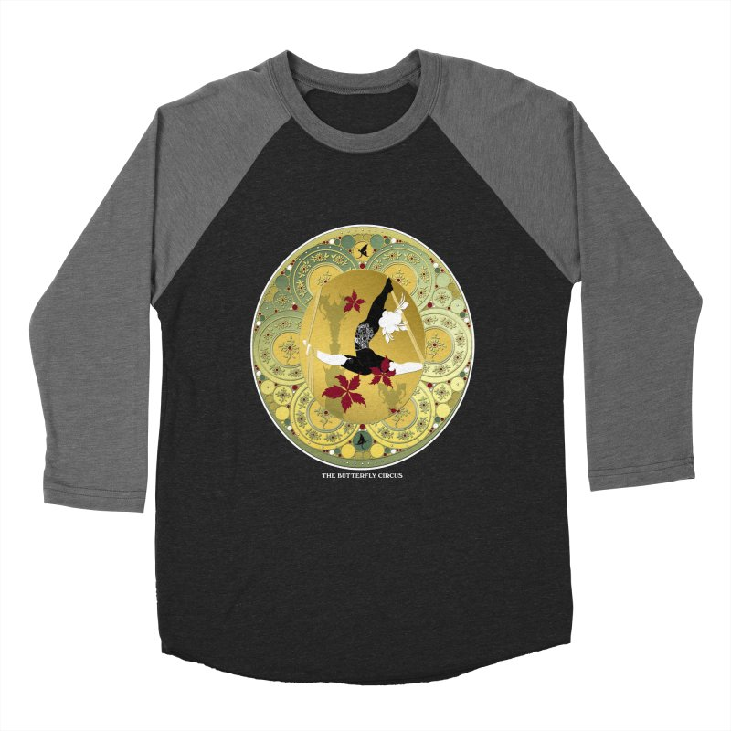 The Butterfly Circus Lenormand Flowers Women's Baseball Triblend Longsleeve T-Shirt by theatticshoppe's Artist Shop