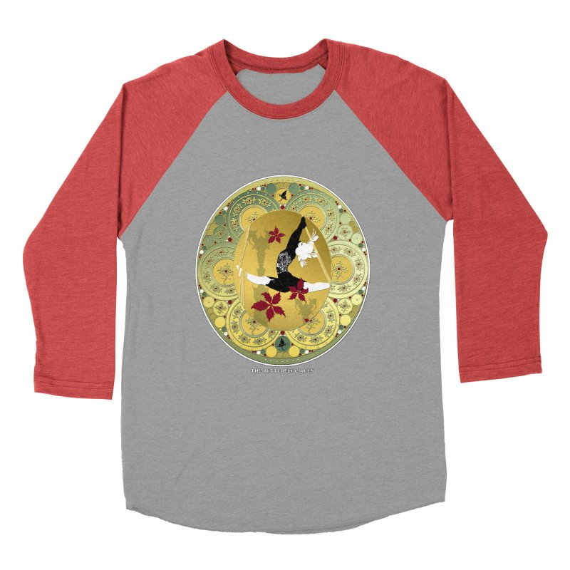 The Butterfly Circus Lenormand Flowers Men's Baseball Triblend Longsleeve T-Shirt by theatticshoppe's Artist Shop