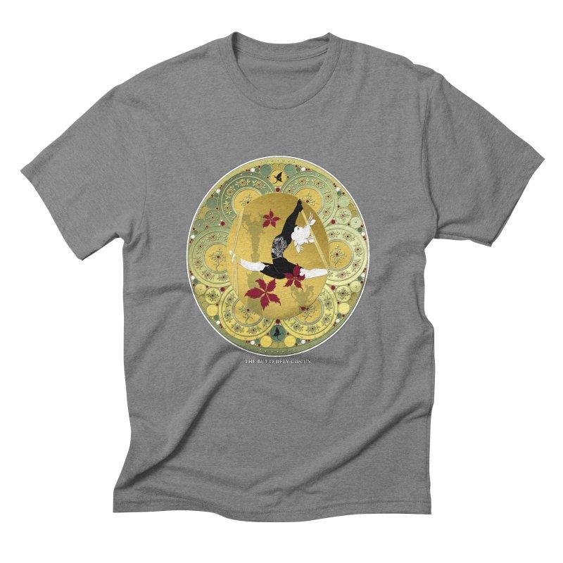 The Butterfly Circus Lenormand Flowers Landscape Men's Triblend T-shirt by theatticshoppe's Artist Shop