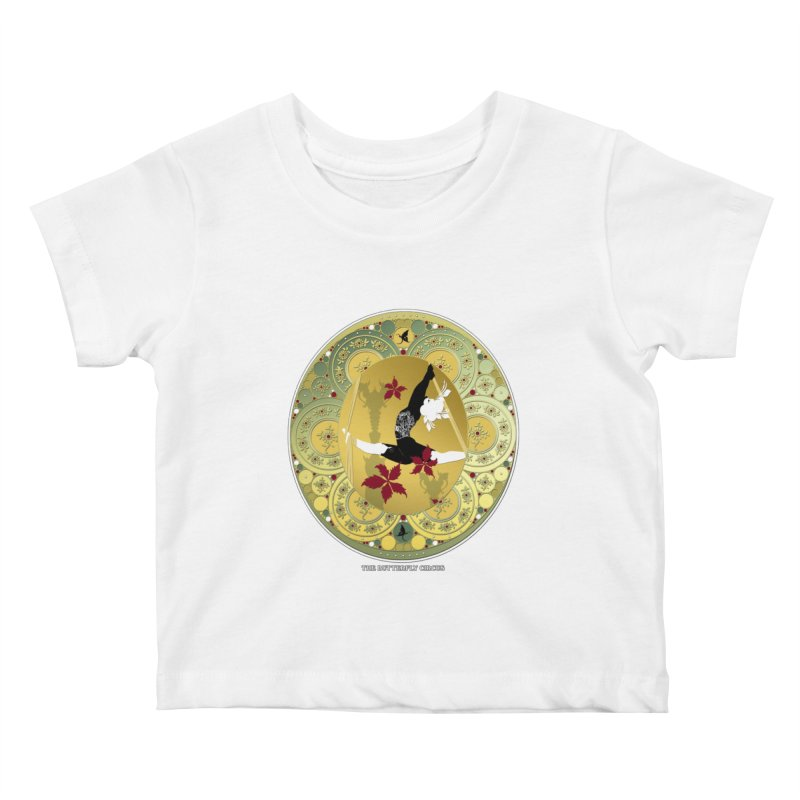 The Butterfly Circus Lenormand Flowers Kids Baby T-Shirt by theatticshoppe's Artist Shop