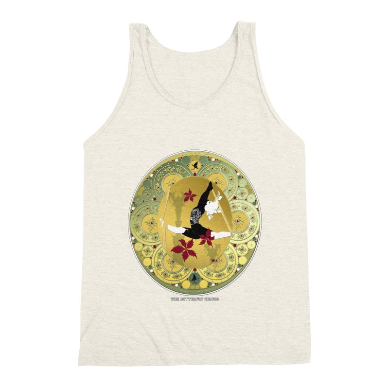 The Butterfly Circus Lenormand Flowers Men's Triblend Tank by theatticshoppe's Artist Shop