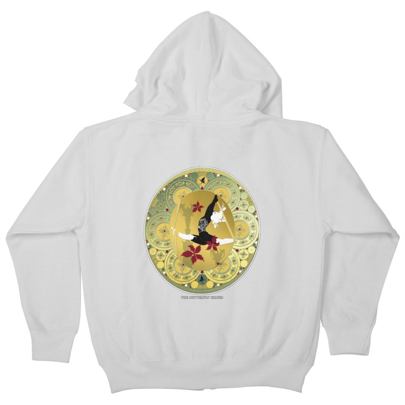 The Butterfly Circus Lenormand Flowers Kids Zip-Up Hoody by theatticshoppe's Artist Shop
