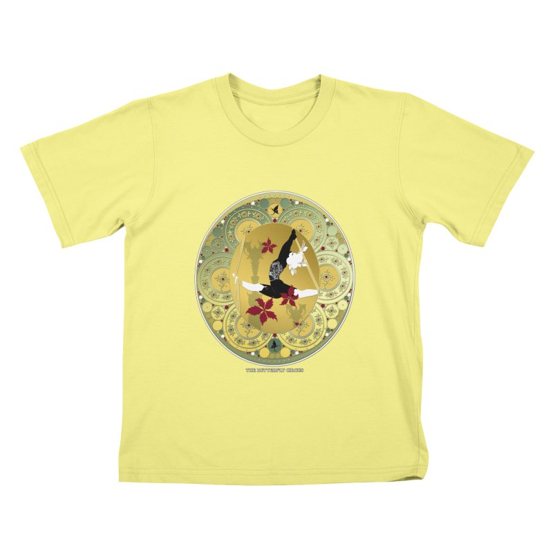 The Butterfly Circus Lenormand Flowers Landscape Kids T-shirt by theatticshoppe's Artist Shop