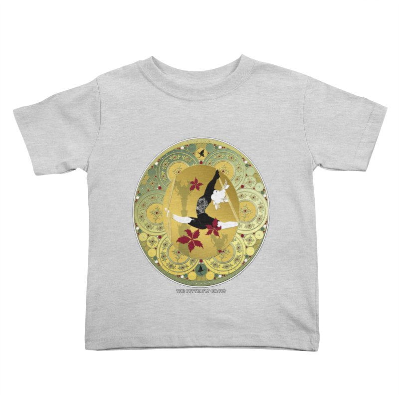 The Butterfly Circus Lenormand Flowers Landscape Kids Toddler T-Shirt by theatticshoppe's Artist Shop