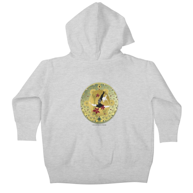 The Butterfly Circus Lenormand Flowers Kids Baby Zip-Up Hoody by theatticshoppe's Artist Shop
