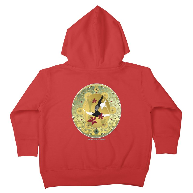 The Butterfly Circus Lenormand Flowers Kids Toddler Zip-Up Hoody by theatticshoppe's Artist Shop