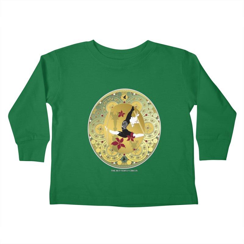 The Butterfly Circus Lenormand Flowers Kids Toddler Longsleeve T-Shirt by theatticshoppe's Artist Shop