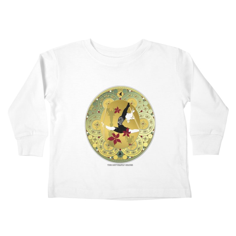 The Butterfly Circus Lenormand Flowers Kids Toddler Longsleeve T-Shirt by theatticshoppe's Artist Shop