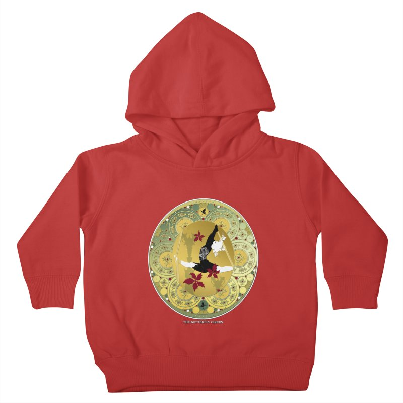 The Butterfly Circus Lenormand Flowers Kids Toddler Pullover Hoody by theatticshoppe's Artist Shop