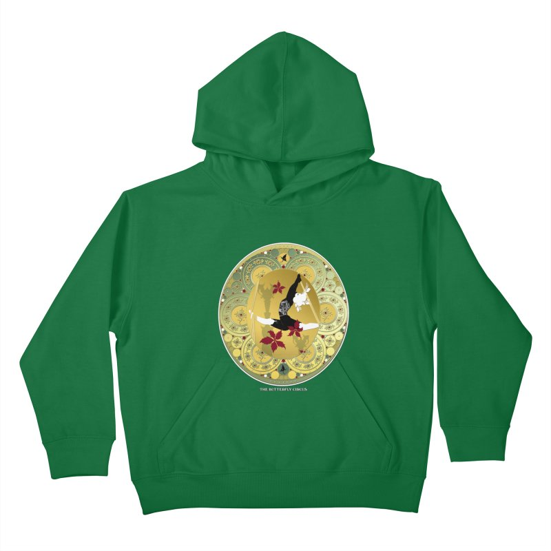 The Butterfly Circus Lenormand Flowers Kids Pullover Hoody by theatticshoppe's Artist Shop