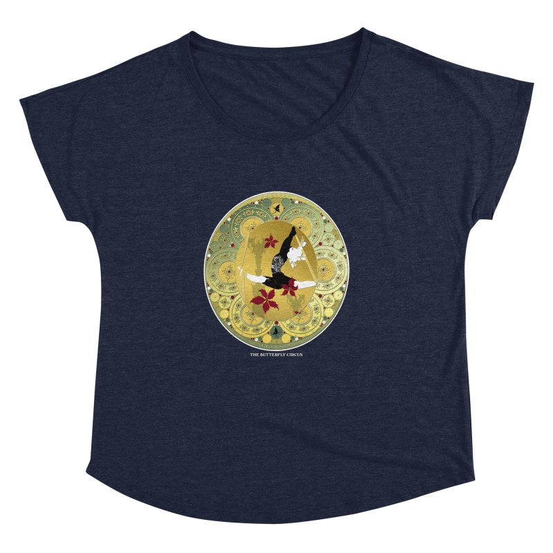 The Butterfly Circus Lenormand Flowers Women's Dolman Scoop Neck by theatticshoppe's Artist Shop