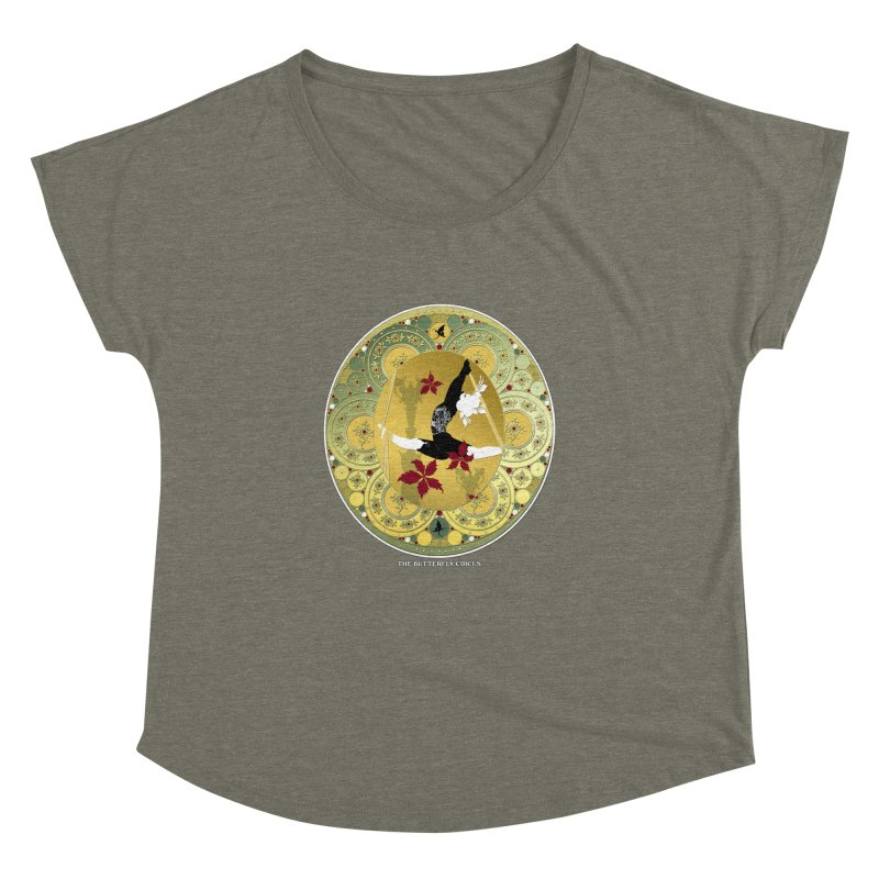 The Butterfly Circus Lenormand Flowers Women's Dolman by theatticshoppe's Artist Shop