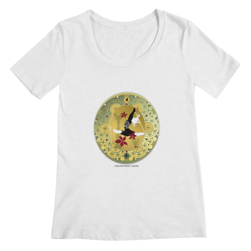 The Butterfly Circus Lenormand Flowers Women's Scoop Neck by theatticshoppe's Artist Shop