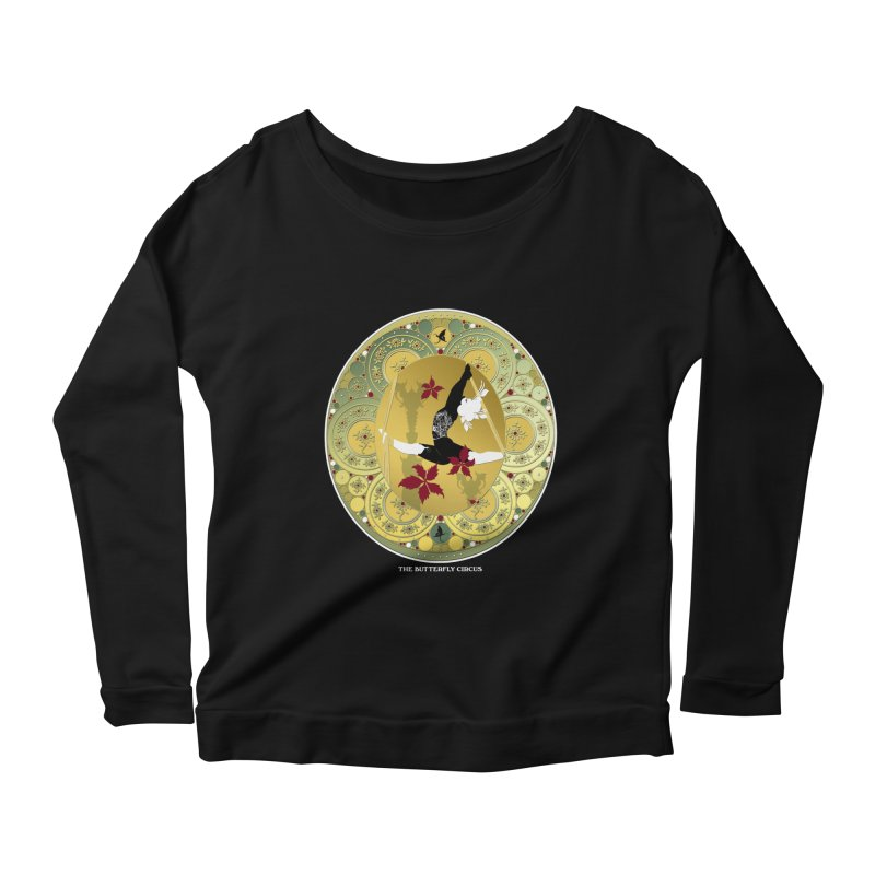 The Butterfly Circus Lenormand Flowers Women's Scoop Neck Longsleeve T-Shirt by theatticshoppe's Artist Shop