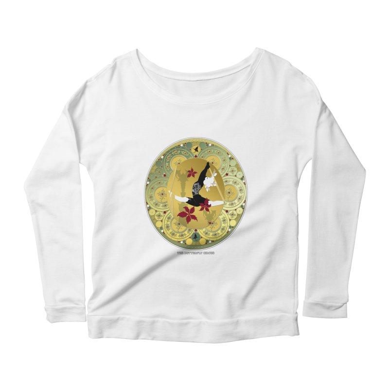 The Butterfly Circus Lenormand Flowers Women's Scoop Neck Longsleeve T-Shirt by theatticshoppe's Artist Shop