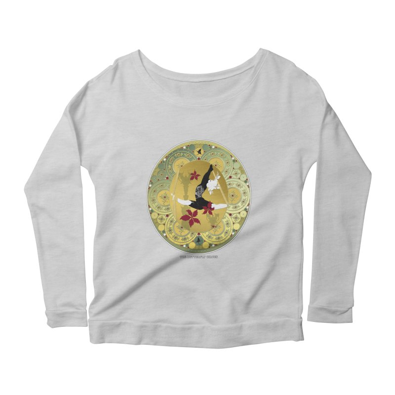 The Butterfly Circus Lenormand Flowers Women's Longsleeve Scoopneck  by theatticshoppe's Artist Shop