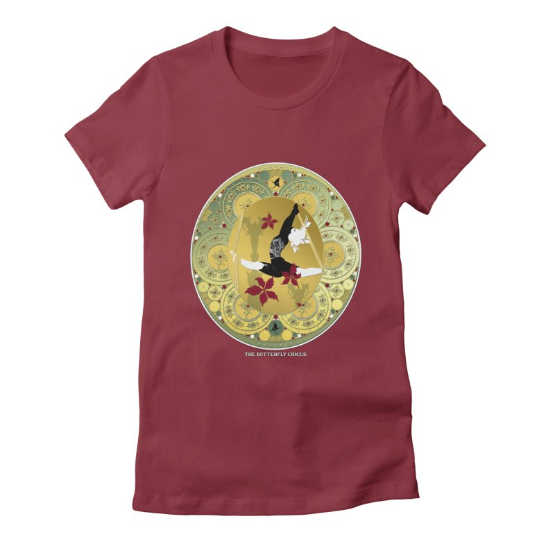 The Butterfly Circus Lenormand Flowers Women's Fitted T-Shirt by theatticshoppe's Artist Shop