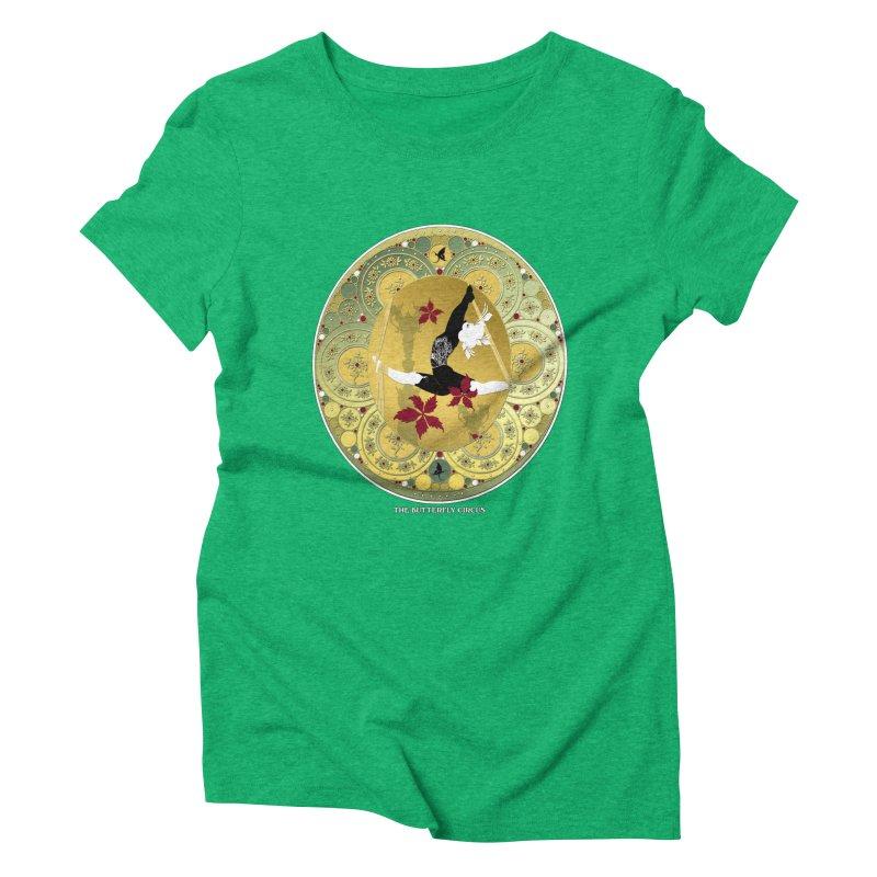 The Butterfly Circus Lenormand Flowers Landscape Women's Triblend T-shirt by theatticshoppe's Artist Shop