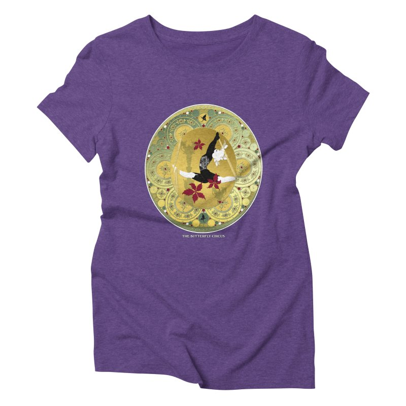 The Butterfly Circus Lenormand Flowers Women's Triblend T-Shirt by theatticshoppe's Artist Shop