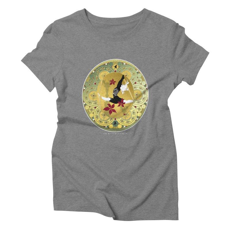 The Butterfly Circus Lenormand Flowers Women's Triblend T-shirt by theatticshoppe's Artist Shop