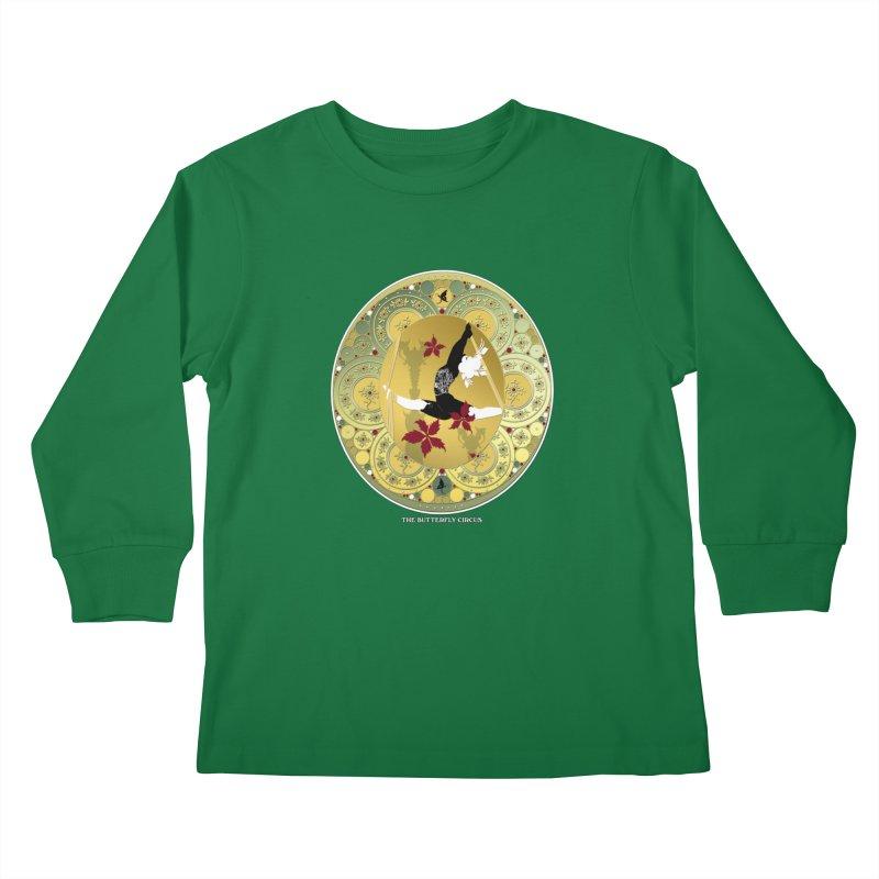 The Butterfly Circus Lenormand Flowers Kids Longsleeve T-Shirt by theatticshoppe's Artist Shop