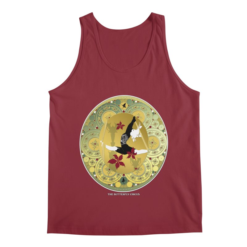 The Butterfly Circus Lenormand Flowers Men's Tank by theatticshoppe's Artist Shop
