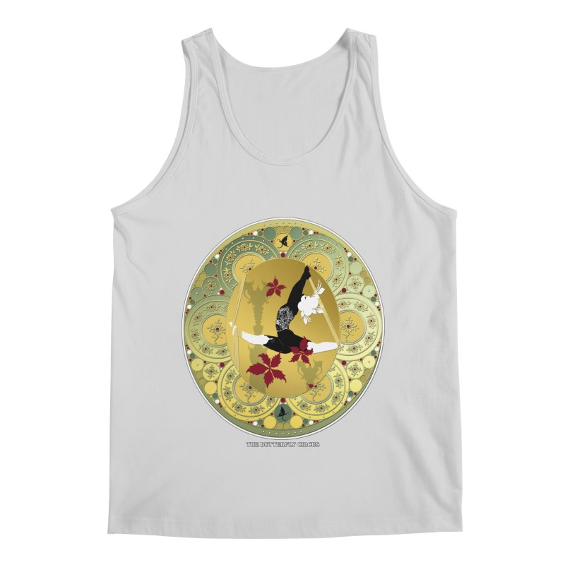The Butterfly Circus Lenormand Flowers Men's Regular Tank by theatticshoppe's Artist Shop