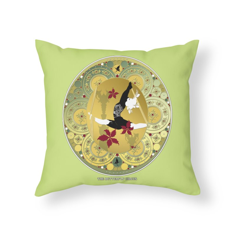 The Butterfly Circus Lenormand Flowers Home Throw Pillow by theatticshoppe's Artist Shop