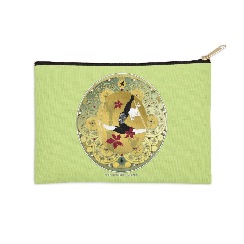 The Butterfly Circus Lenormand Flowers Accessories Zip Pouch by theatticshoppe's Artist Shop