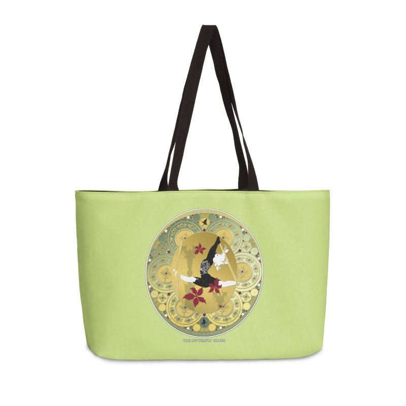 The Butterfly Circus Lenormand Flowers Accessories Weekender Bag Bag by theatticshoppe's Artist Shop