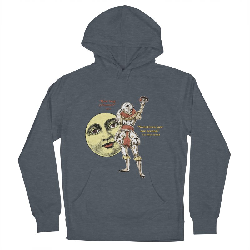 How Long is Forever? Women's French Terry Pullover Hoody by theatticshoppe's Artist Shop
