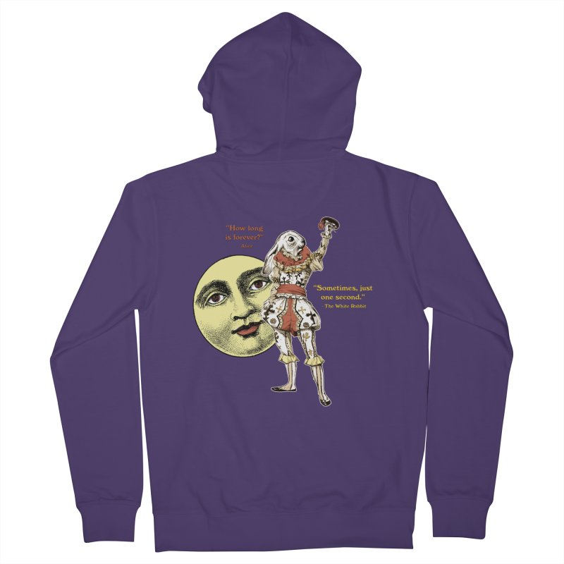 How Long is Forever? Women's Zip-Up Hoody by theatticshoppe's Artist Shop