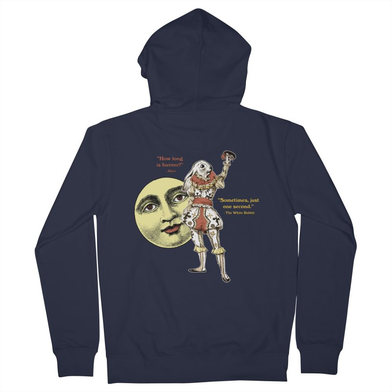 How Long is Forever? Women's French Terry Zip-Up Hoody by theatticshoppe's Artist Shop