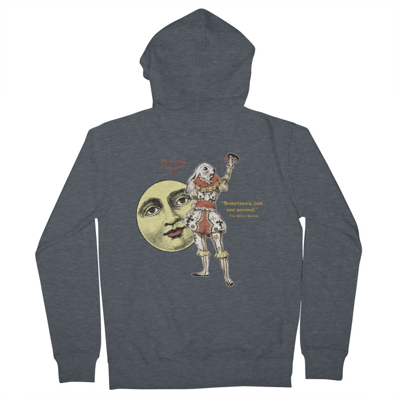 How Long is Forever? Men's Zip-Up Hoody by theatticshoppe's Artist Shop