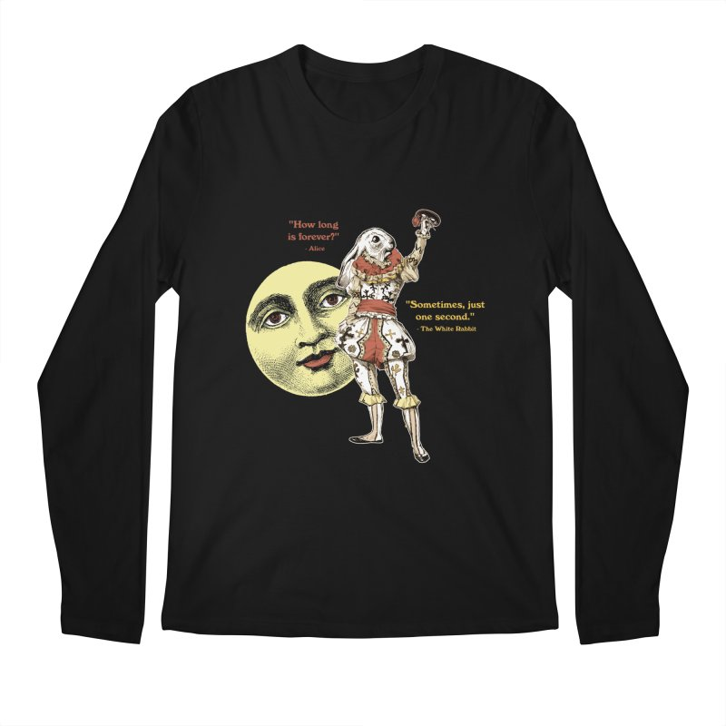 How Long is Forever? Men's Regular Longsleeve T-Shirt by theatticshoppe's Artist Shop