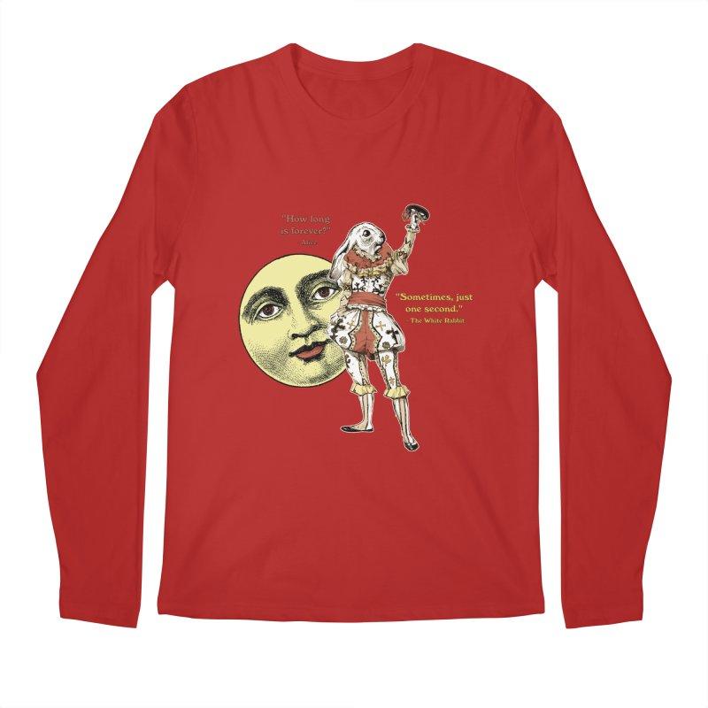 How Long is Forever? Men's Longsleeve T-Shirt by theatticshoppe's Artist Shop