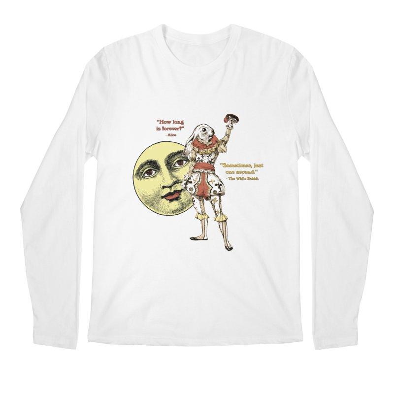 How Long is Forever? Men's Regular Longsleeve T-Shirt by theatticshoppe's Artist Shop