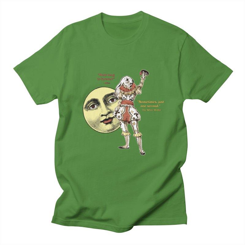 How Long is Forever? Men's T-Shirt by theatticshoppe's Artist Shop
