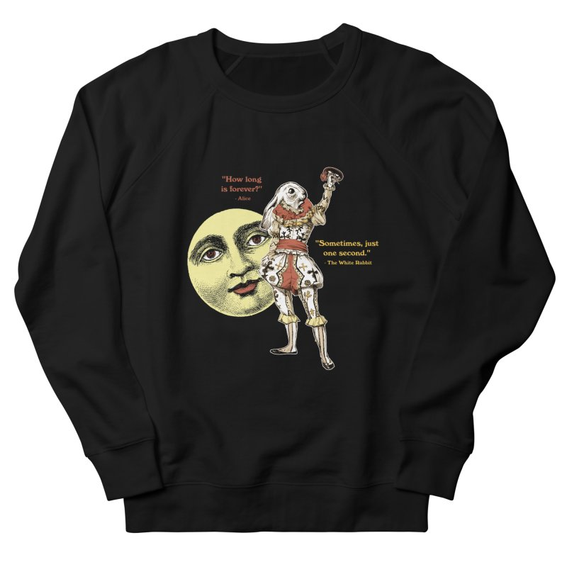 How Long is Forever? Men's French Terry Sweatshirt by theatticshoppe's Artist Shop