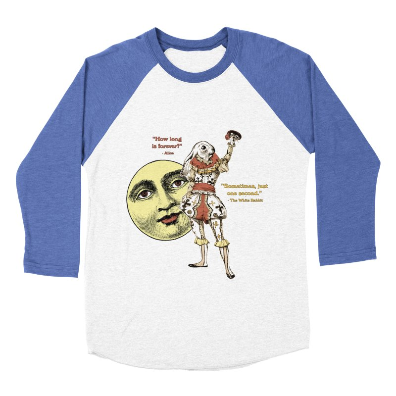How Long is Forever? Women's Baseball Triblend T-Shirt by theatticshoppe's Artist Shop
