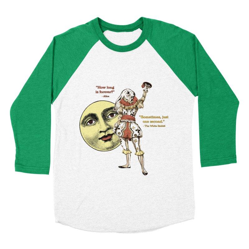 How Long is Forever? Men's Baseball Triblend Longsleeve T-Shirt by theatticshoppe's Artist Shop